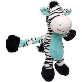 Charming Pet Charming Pet K9 Tuff Guard Pulleez Zebra Dog Toy