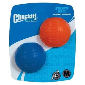 Chuckit Chuckit! StratoBall Dog Toy - Medium 2 pack