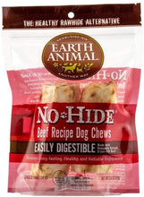 Load image into Gallery viewer, Earth Animal Earth Animal No-Hide Beef Dog Chews Dog Treats Small 2-Pack (16-45 lbs.)