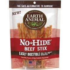 Earth Animal Earth Animal No-Hide Beef Dog Chews Dog Treats Stix (up to 15 lbs.)