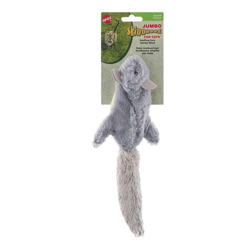 Ethical Pet Ethical Pet Spot Jumbo Skinneeez Squirrel Cat Toy - 12""