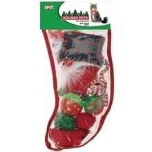 Ethical Pet Spot Ethical Pet Holiday Pets Cat Stocking with 8 Toys