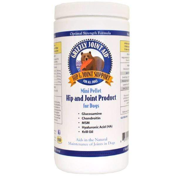 Grizzly Grizzly Hip and Joint Formula for Dogs 10 oz. Mini Pellet
