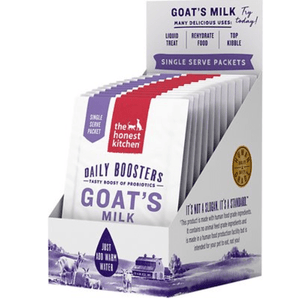 Honest Kitchen The Honest Kitchen Daily Boosters Instant Goat's Milk with Probiotics for Dogs & Cats Packets 12 count