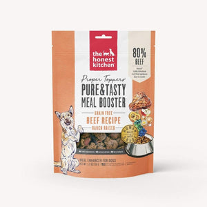 Honest Kitchen The Honest Kitchen Proper Toppers Grain-Free Beef Recipe Dehydrated Dog Food Topper