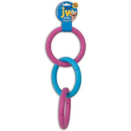JW JW Invincible Chain Triple Dog Toy - Large