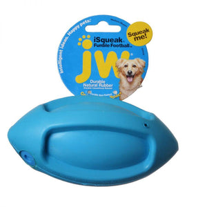 JW JW iSqueak Funble Football Dog Toy
