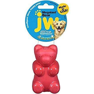 JW JW Megalast Mega Bear Dog Toy - Large