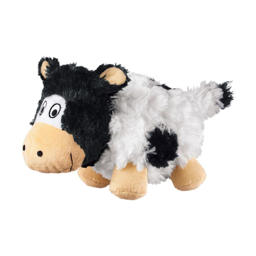 Kong Kong Barnyard Cruncheez Cow Dog Toy - Small