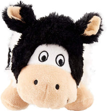 Load image into Gallery viewer, Kong Kong Barnyard Cruncheez Cow Dog Toy - Small
