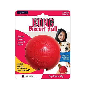 Kong Kong Biscuit Ball Dog Toy