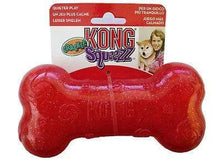 Load image into Gallery viewer, Kong Kong Holiday Crackle Bone Dog Toy - Large