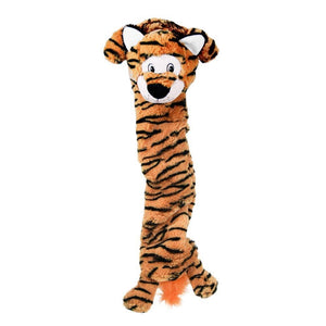 Kong Kong Jumbo Stretchezz Tiger Dog Toy - XL