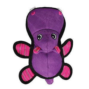 Kong Kong Roughskinz Hippo Dog Toy - M/L