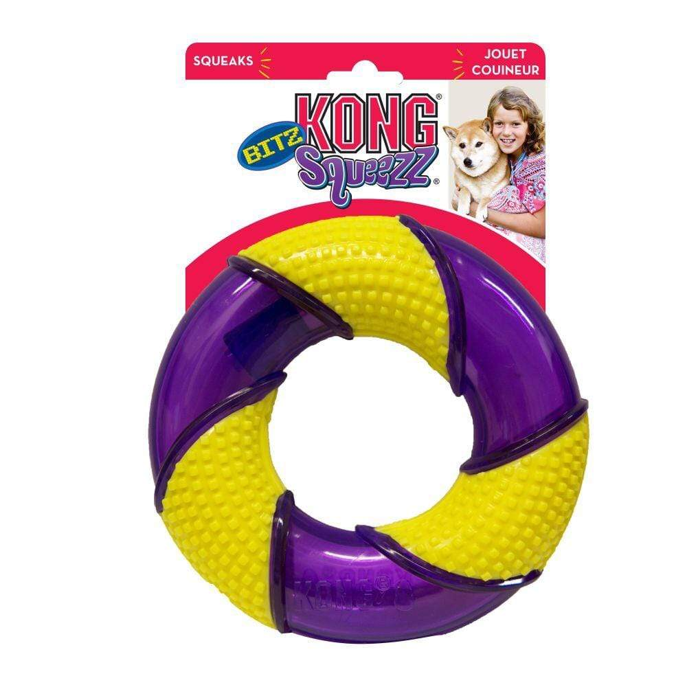 Kong Kong Squeezz Bitz Ring Dog Toy