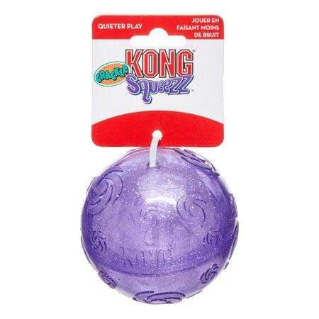 Kong Kong Squeezz Crackle Ball Dog Toy