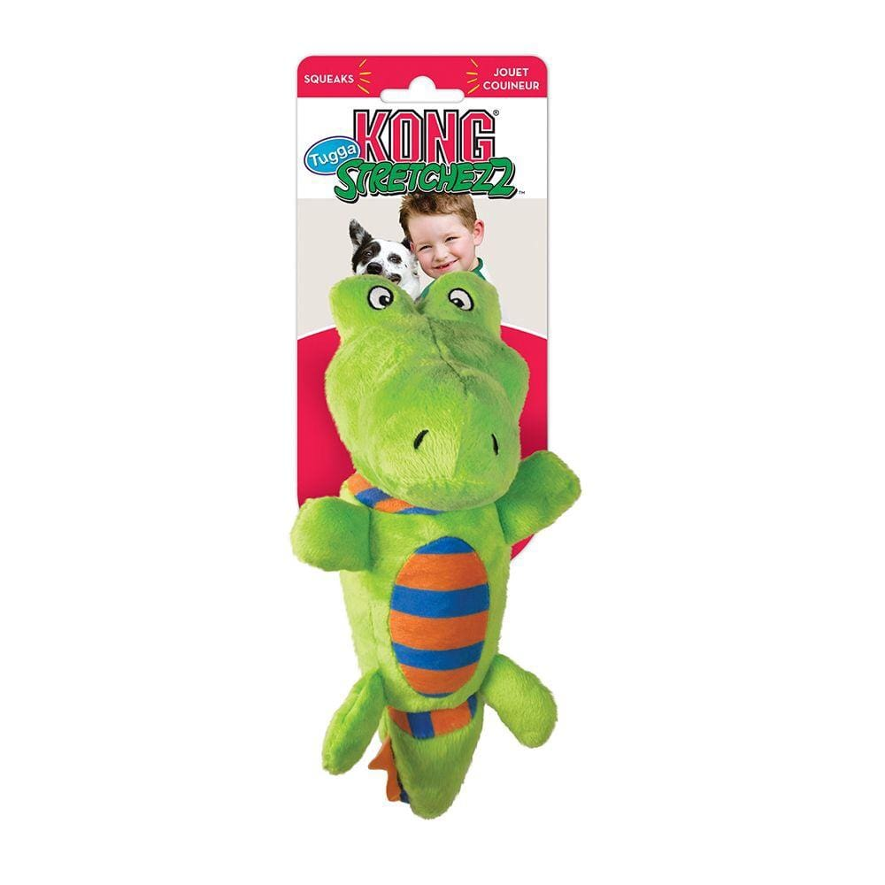 Kong Kong Stretchezz Tugga Alligator Dog Toy