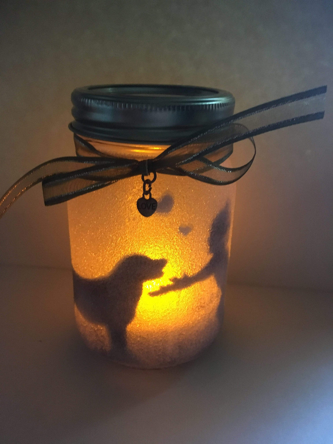 Lagoon Pet Products Handmade Mason Jar Candle - Dog & Child