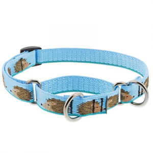 "Lupine Lupine Hedgehog Martingale Dog Collar - 3/4"" only"