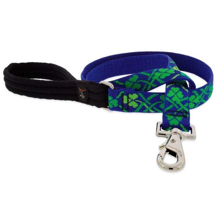 "Lupine Lupine Lucky Dog Leash - 6' only - 1"" width"