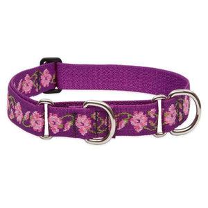Lupine Lupine Rose Garden Martingale Dog Collar