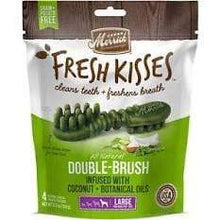Load image into Gallery viewer, Merrick Merrick Fresh Kisses Infused with Coconut & Botanical Oils Dental Dog Treats 4 count (Large Dog 50+ lbs.)