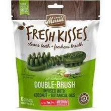 Load image into Gallery viewer, Merrick Merrick Fresh Kisses Infused with Coconut & Botanical Oils Dental Dog Treats 6 count (Medium Dog 25-50 lbs.)