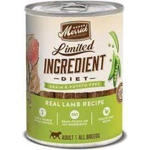 Load image into Gallery viewer, Merrick Merrick Limited Ingredient Diet - Real Lamb Recipe 1 can (12.7 oz.)
