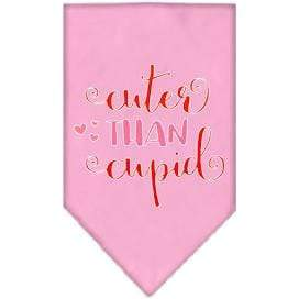 Mirage Pet Products Cuter Than Cupid Valentine's Dog Bandana Small / Light Pink