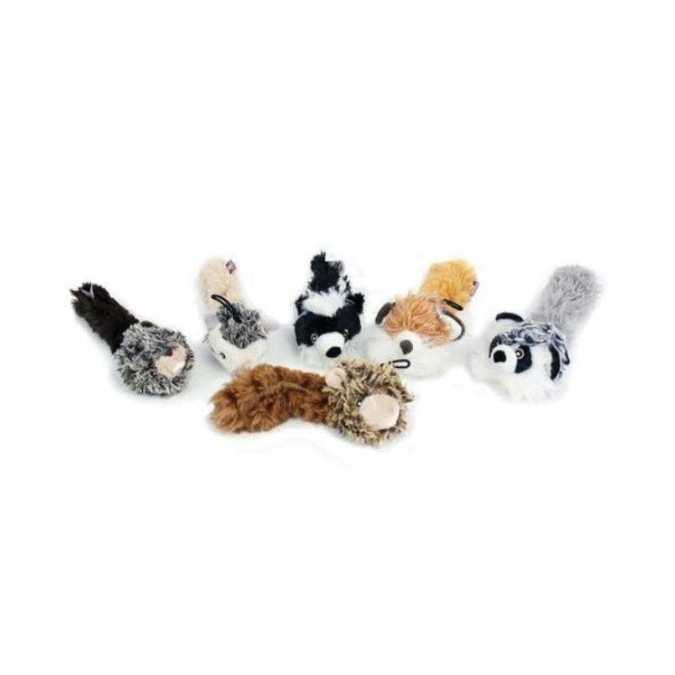 "Multipet Multipet Bouncy Burrow Babies Dog Toy - 8"" - Character Varies"