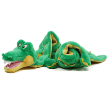 Load image into Gallery viewer, Outward Hound Outward Hound Squeaker Matz Gator Dog Toy - XXL