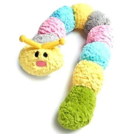 Patchwork Pet Patchwork Pet Pastel Caterpillar Dog Toy
