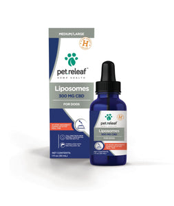 Pet Releaf Pet Releaf Liposome Hemp Oil 300 for Medium/Large Dogs
