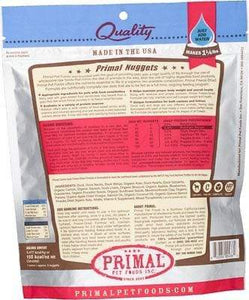 Primal Pet Foods Primal Duck Nuggets Grain-Free Raw Freeze-Dried Dog Food