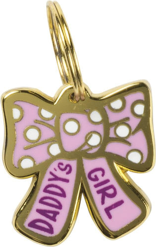 Primitives by Kathy Daddy's Girl Dog Collar Charm