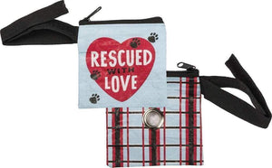 Primitives by Kathy Rescued with Love - Pet Waste Dog Pouch