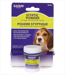 Safari Safari Pet Styptic Powder - .5 oz