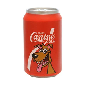 Silly Squeakers Silly Squeakers Cans Stuffing Free Vinyl Dog Toy Canine Cola