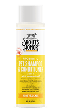 Load image into Gallery viewer, Skout's Honor Skout's Honor Honeysuckle Shampoo & Conditioner - 16 oz.