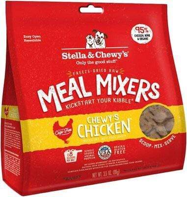Stella & Chewy's Stella & Chewy's Chewy's Chicken Meal Mixers Grain-Free Freeze-Dried Raw Dog Food Topper