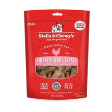 Load image into Gallery viewer, Stella & Chewy's Stella & Chewy's Chicken Hearts Grain-Free Freeze-Dried Raw Dog Treats 11.5 oz.