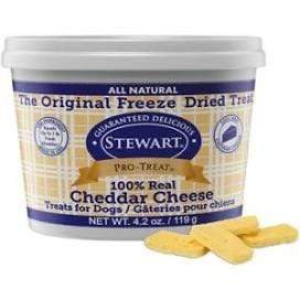 Stewart Stewart 100% Real Cheddar Cheese Dog Treats - 4.2 oz