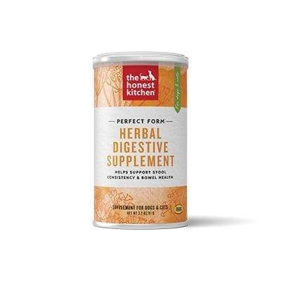 The Honest Kitchen The Honest Kitchen Perfect Form Herbal Digestive Dog & Cat Supplement - 3.2 oz. container