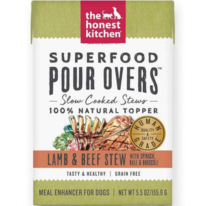 The Honest Kitchen The Honest Kitchen Superfood Pour Overs Lamb & Beef Stew
