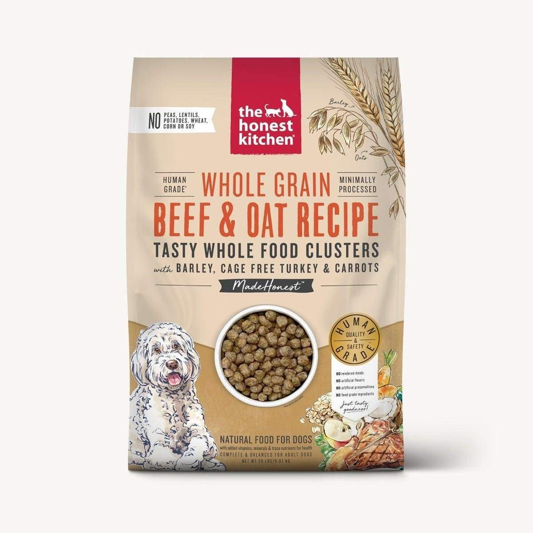 The Honest Kitchen The Honest Kitchen Whole Food Clusters - Whole Grain Beef & Oat with Turkey