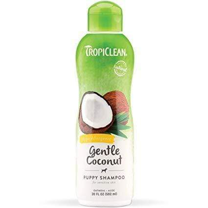 Tropiclean TropiClean Gentle Coconut Pet Shampoo for Puppies & Kittens - 20 oz.