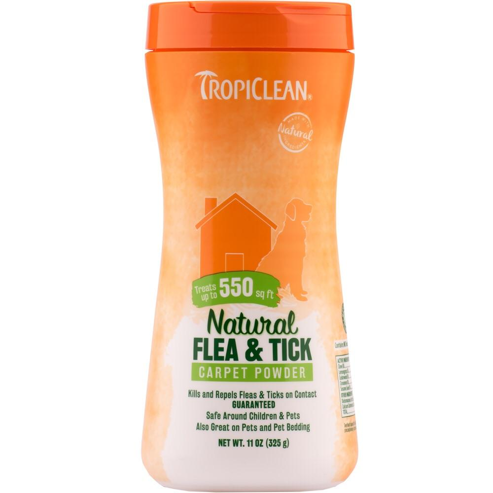 Tropiclean TropiClean Natural Flea & Tick Carpet Powder