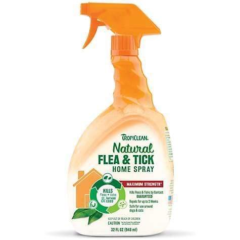 Tropiclean TropiClean Natural Flea & Tick Home Spray for Dogs & Cats