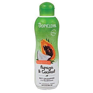 Tropiclean TropiClean Papaya & Coconut Plus Shampoo & Conditioner for Dogs
