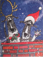 Load image into Gallery viewer, Van's Dogs Van's Dogs Christmas cards 1 card